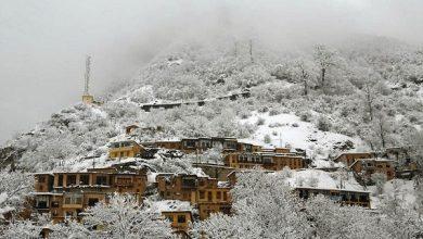بارش برف - ارتفاعات ماسوله