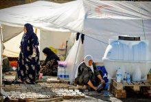 توزیع چادر در روستاهای کرمانشاه - بسته های غذایی 72 ساعته