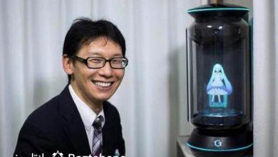 ازدواج مرد ژاپنی با یک هولوگرام