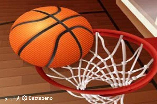 مسابقه بسکتبال انزلی با شکلی تهران